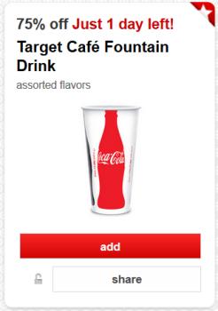 target cartwheel offer cafe drink pic