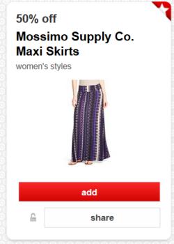 target cartwheel offer maxi skirt pic