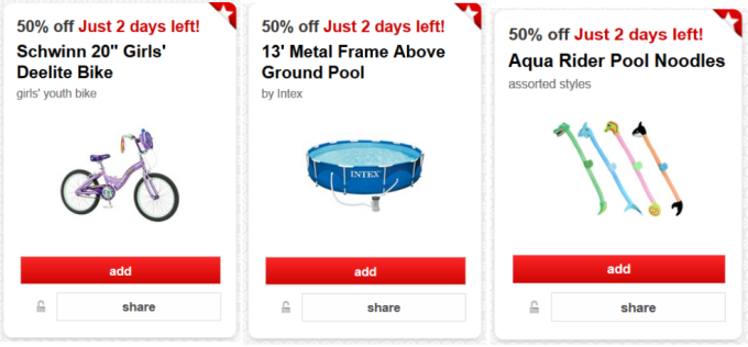 Target Cartwheel Offer New Collage