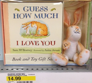 target guess how much I love you