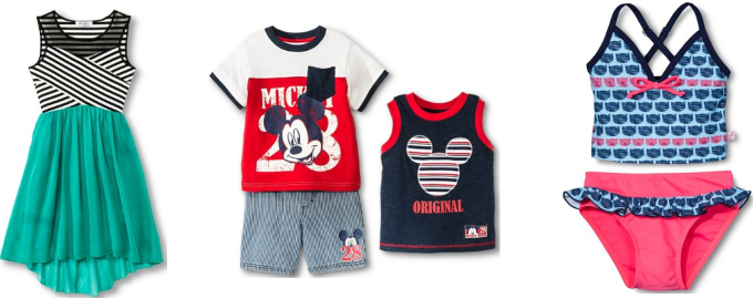 target kids clothes collage pic