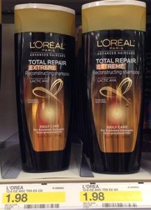 target loreal shampoo
