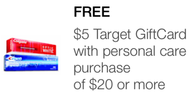 target mobile coupon personal care