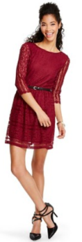 target.com dress red