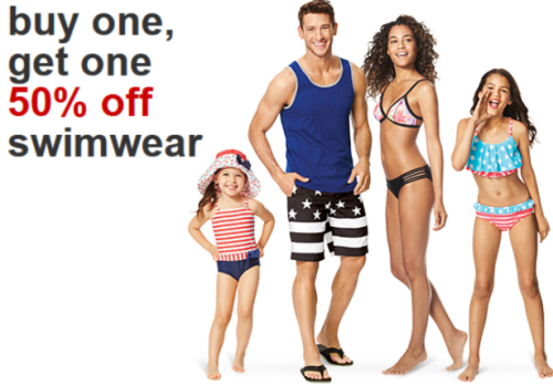 0b1e6783a41 Target.com: Buy One Get One 50% off Swimwear for the Whole Family ...