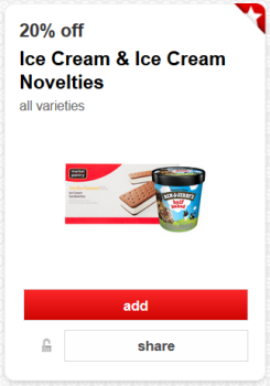 target cartwheel ice cream and novelties pic