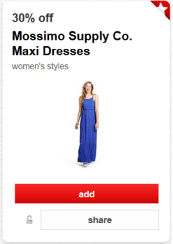target cartwheel offer mossimo dress pic