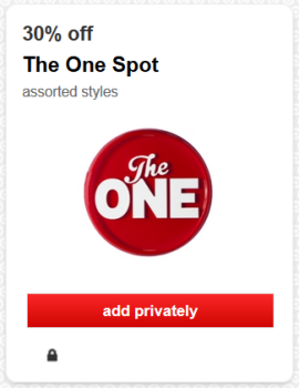 target cartwheel offer one spot pic
