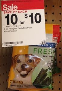 target dog treat