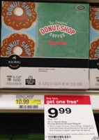 target donut coffee sm