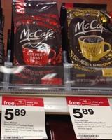 target mcafe coffee sm
