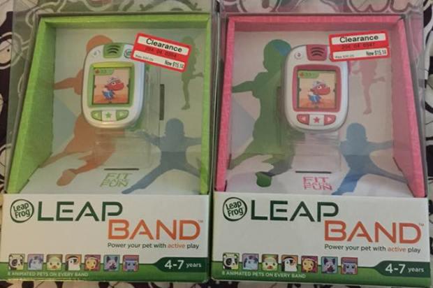 target read clear errin leapbands