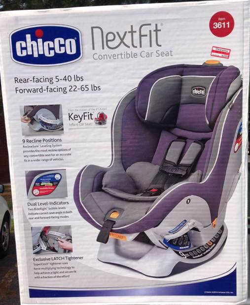 Target Read Clear Mordechai Car Seat