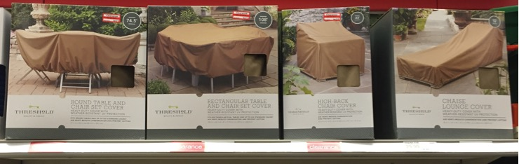 Beautiful Patio furniture covers were all marked down