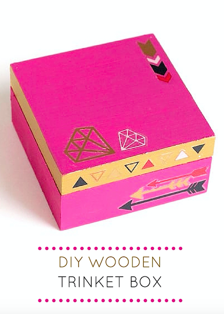 DIY Wooden Trinket Box
