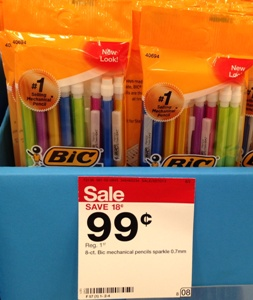 target bic pencil