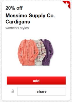 target cardigan