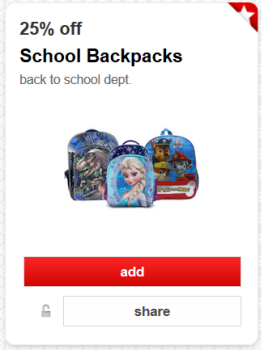 target cartwheel offer school backpacks pic