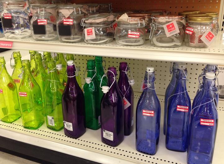 target clear jar 30