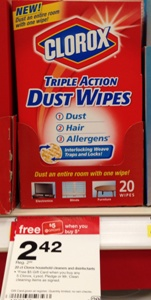 target clorox wipes