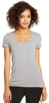 target.com women tee gray