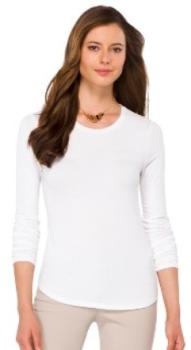 target.com women tee white 1