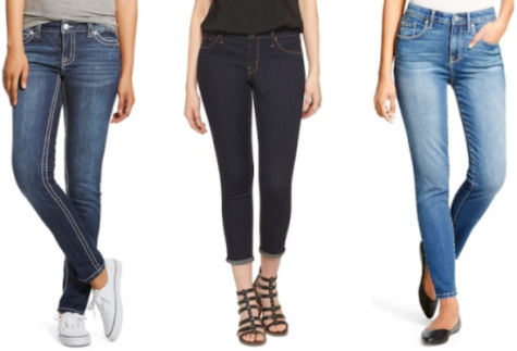 target.com women's jeans collage pic
