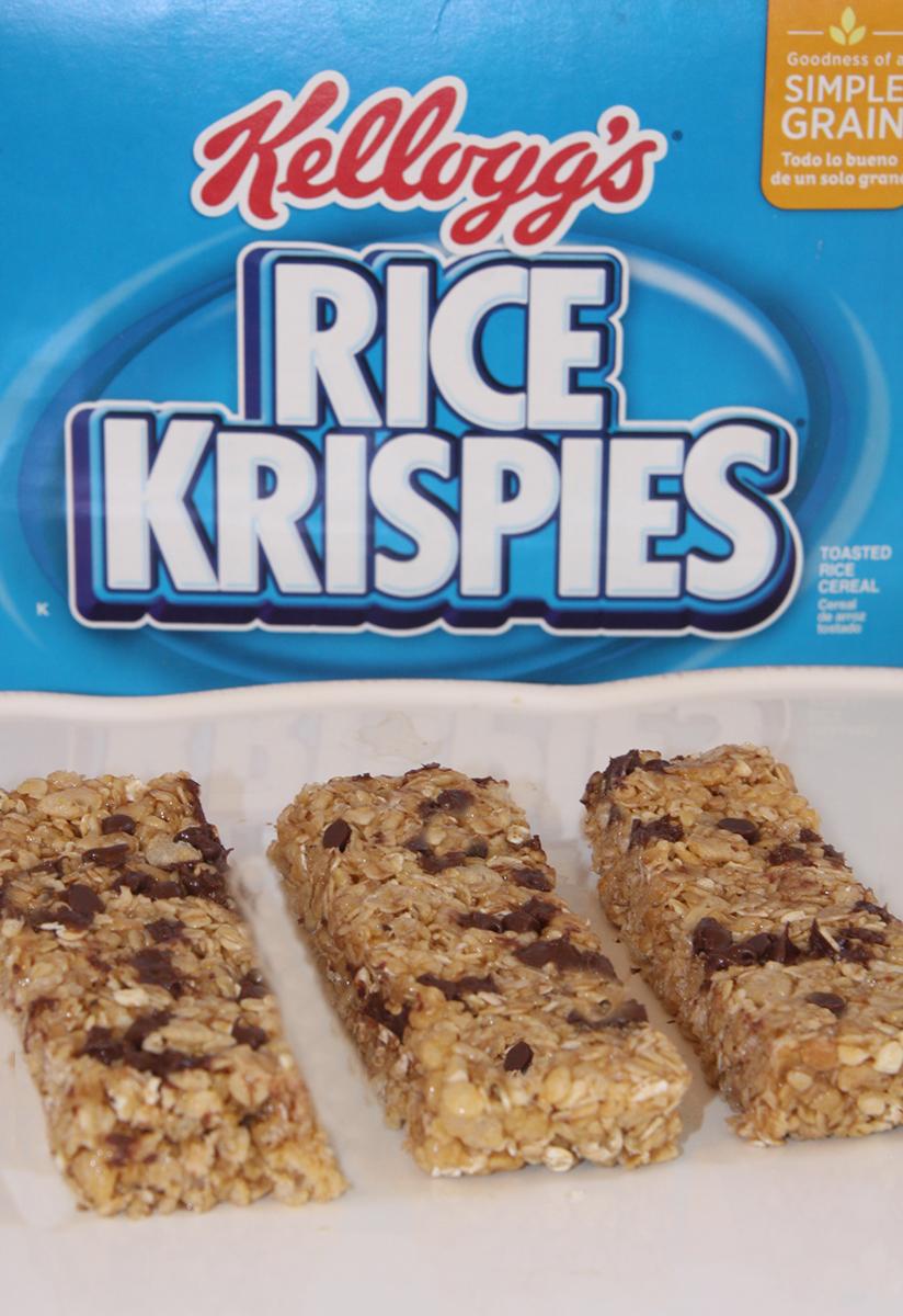 No-Bake Granola Bars with Kellogg's Rice Krispies
