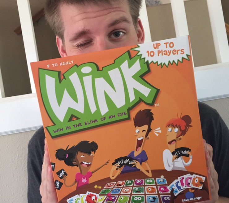 Wink by Blue Oranges Games sold exclusively at Target