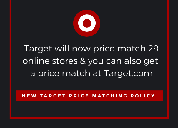 New Target Price Matching Policy October 1st
