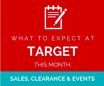 What to Expect at Target this month