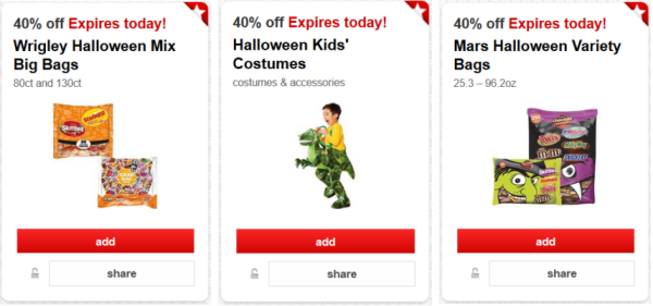 target cartwheel halloween collage pic