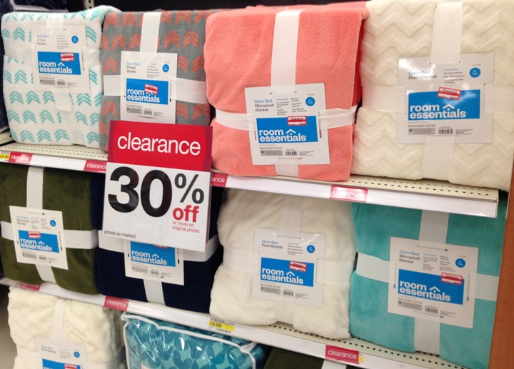 target clear blankets 50