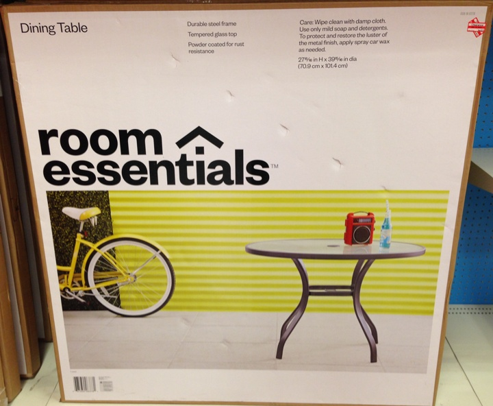 target clear outdoor table 70