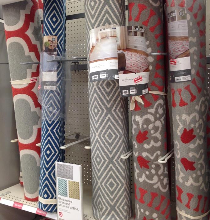 target clear rug