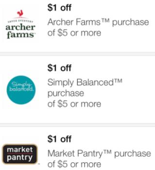 target mobile coupon market pantry pic