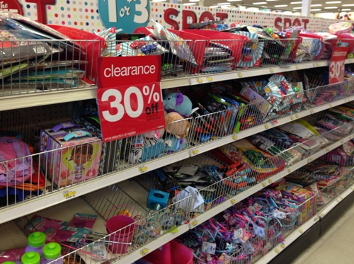 target one spot clearance pic