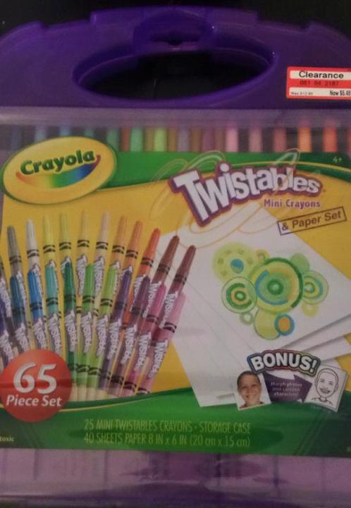 target read clear new 1 lisa crayons 50