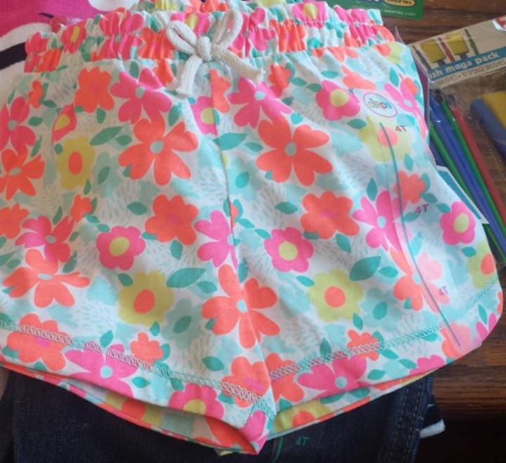 target read clear shorts rebbecca
