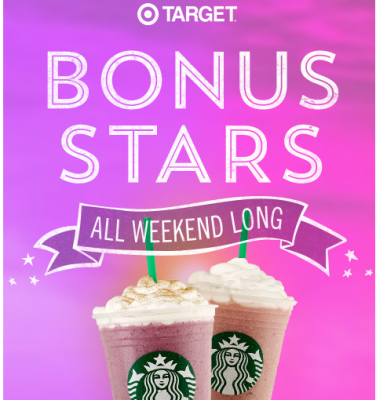 target starbucks coffee deal pic