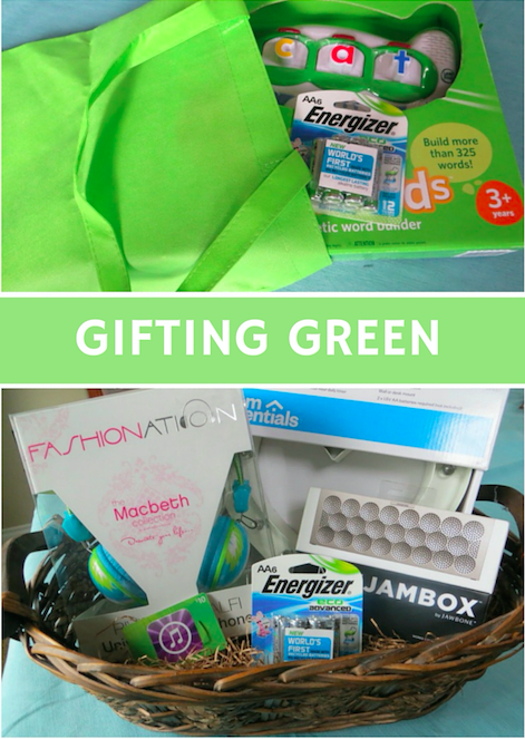 Gifting Green with Re-useable Packaging & Energizer