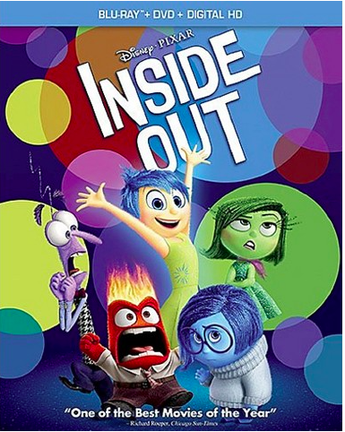 Inside Out DVD and Blu-ray