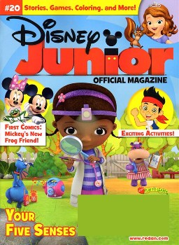 disney junior mag