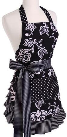 flirty apron black pic