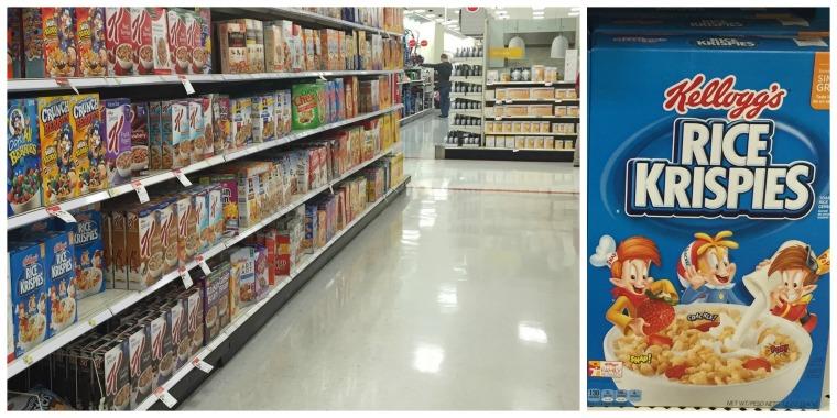 kelloggs cereal target
