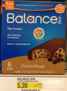 target balance bar