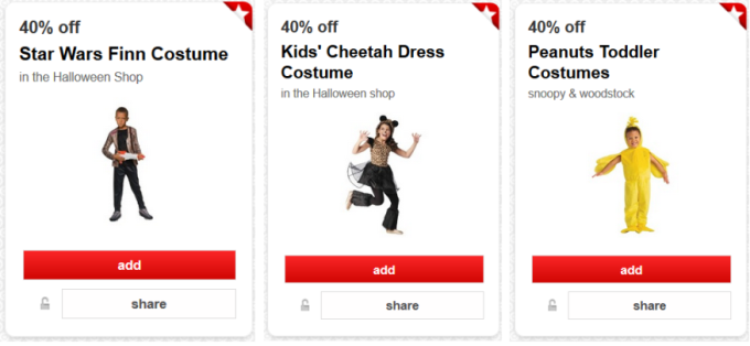 target cartwheel costumes collage pic