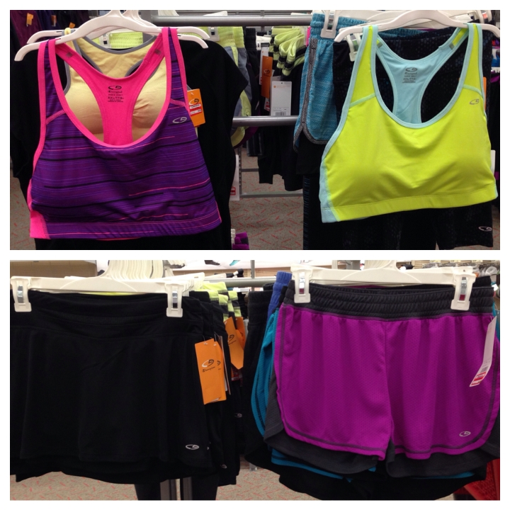 target clear active wear 70