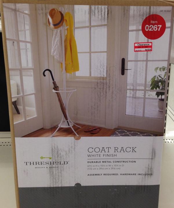 target clear coat rack