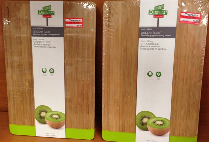 target clear cutting board 50